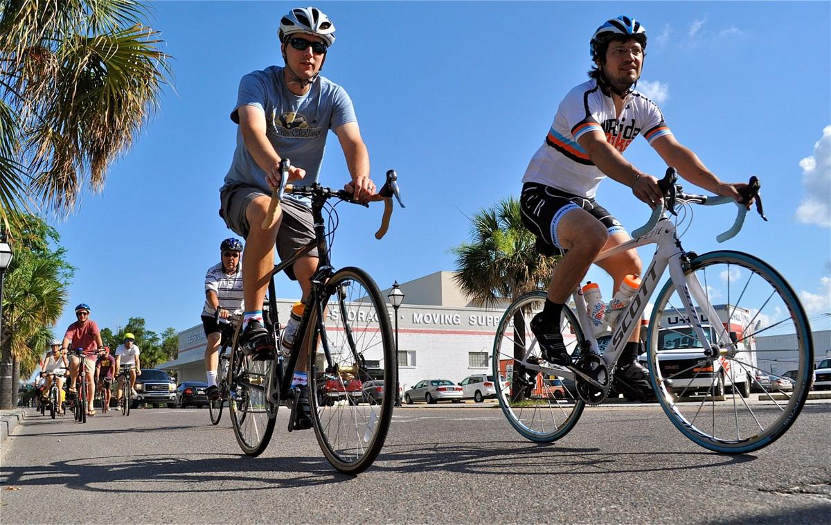 Cyclists show support for re-opening Connector