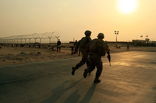 Iraq in rearview mirror