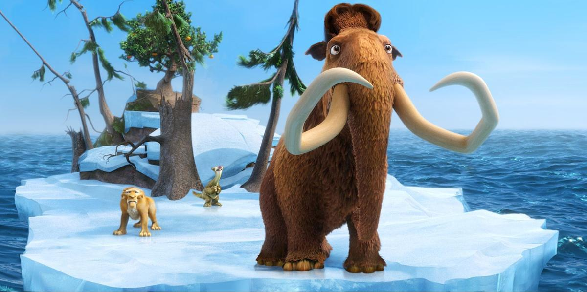 A few mammoth laughs in latest 'Ice Age'