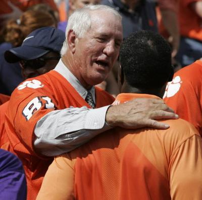 Clemson football coach Danny Ford loves hard work
