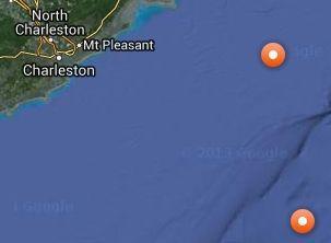 Ocearch: Sharks Mary Lee and Katharine both lurking off South Carolina coast