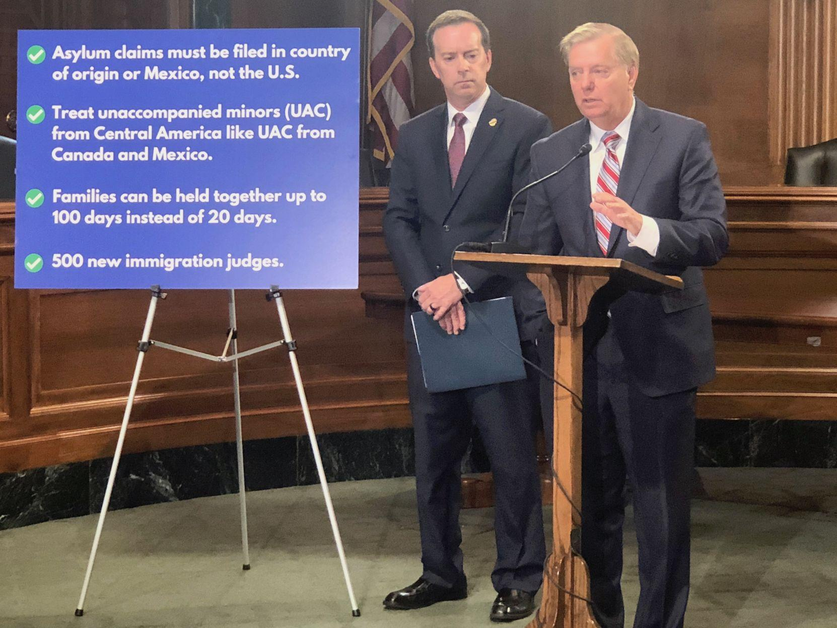 POST AND COURIER – SC Sen. Lindsey Graham singles out asylum process for fix amid immigration inaction