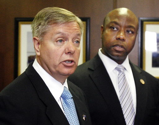 Harbor solution promised: Graham, Scott say they will tie up government to get money for dredging study