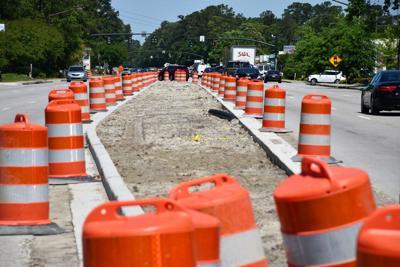 Median work on Highway 176 on schedule