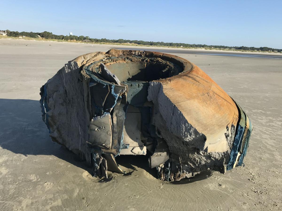 Mysterious beach item on Seabrook Island
