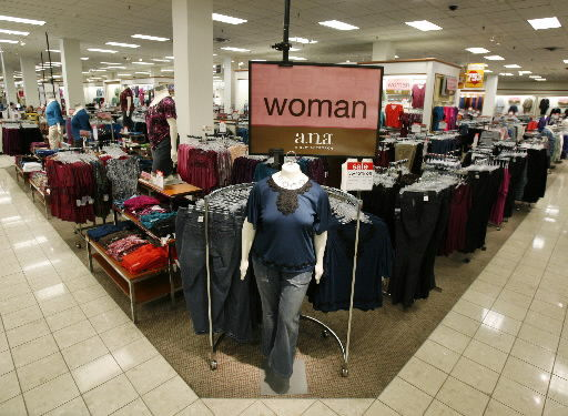 Sales of plus sizes down despite some stores' efforts