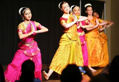 Mrudani School's Indian classical dance troupe (copy)