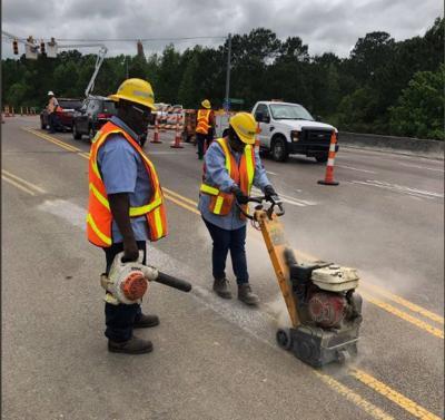 SCDOT College Park Road bridge repairs