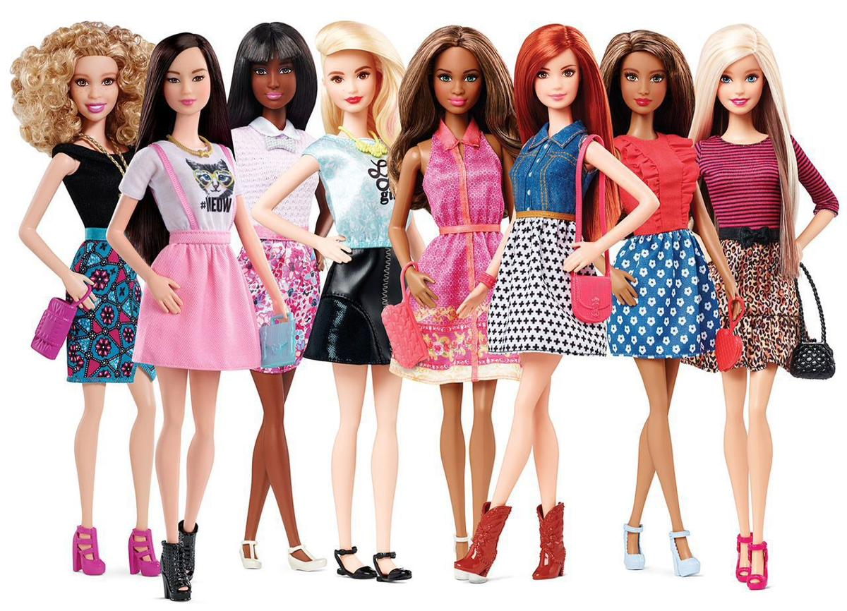 Barbie wearing new line of flat shoes