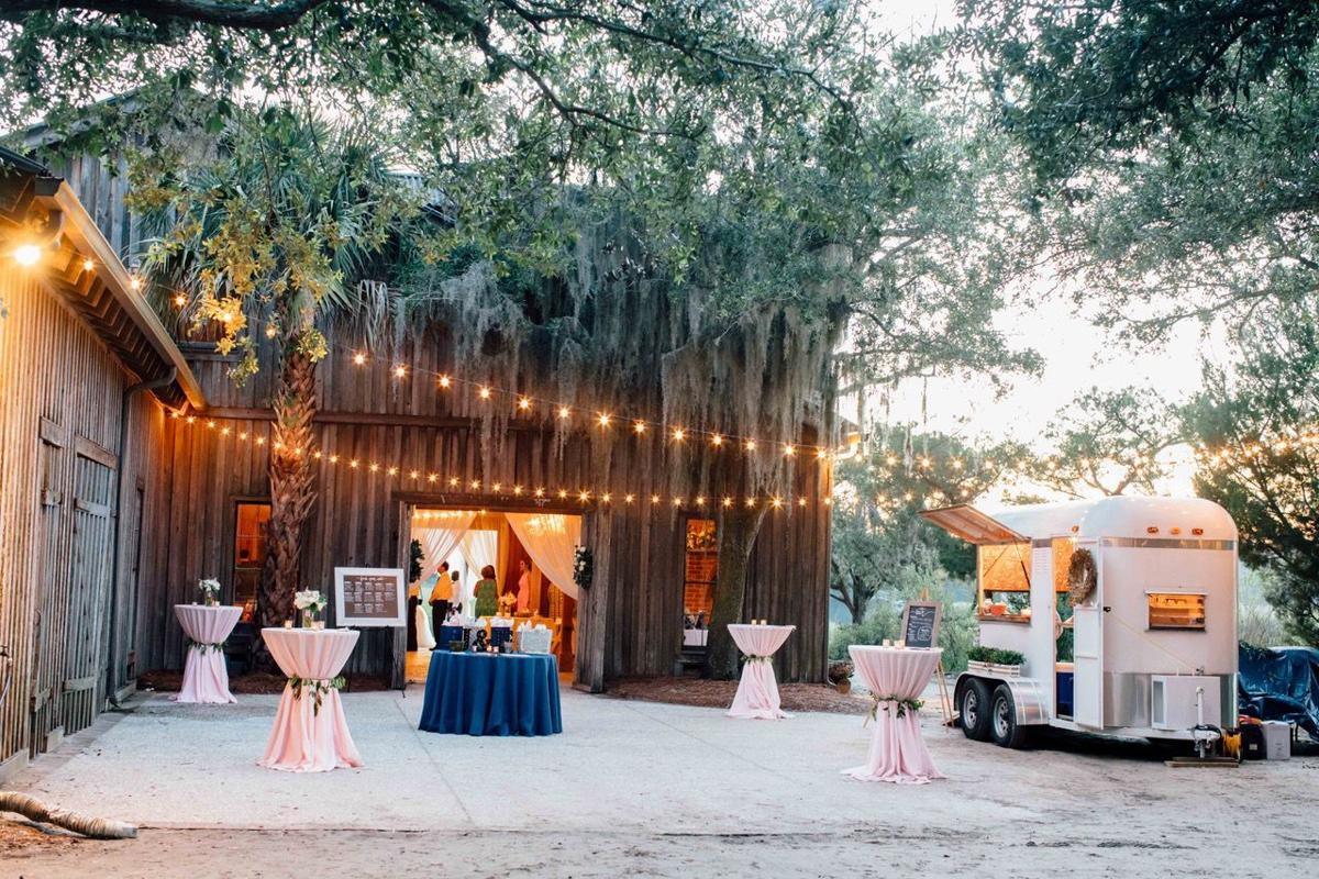 Mobile vendors taking over the Charleston party and wedding