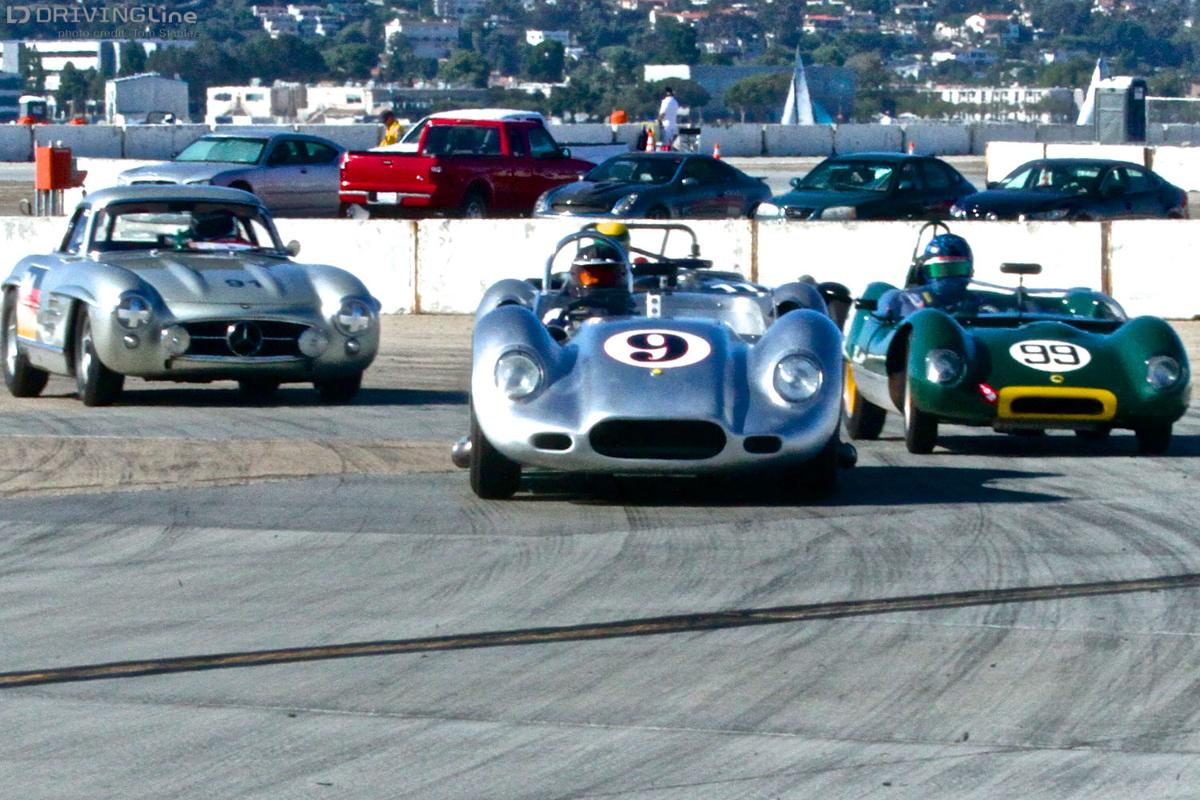 Fine whine -- Vintage auto racing makes tracks at car shows ...