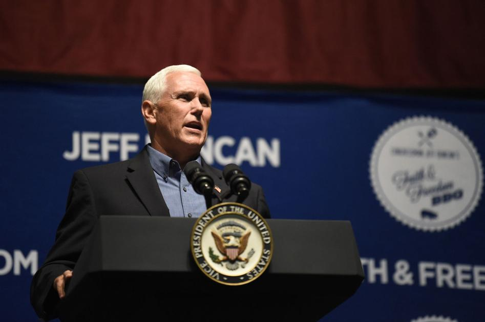 Pence cheered during SC fundraiser amid 2024 rumors, while Sanford told to 'take a hike'