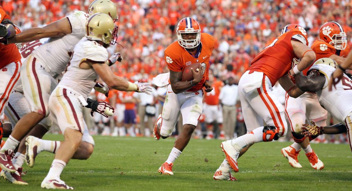 Dominant defensive effort lifts Clemson