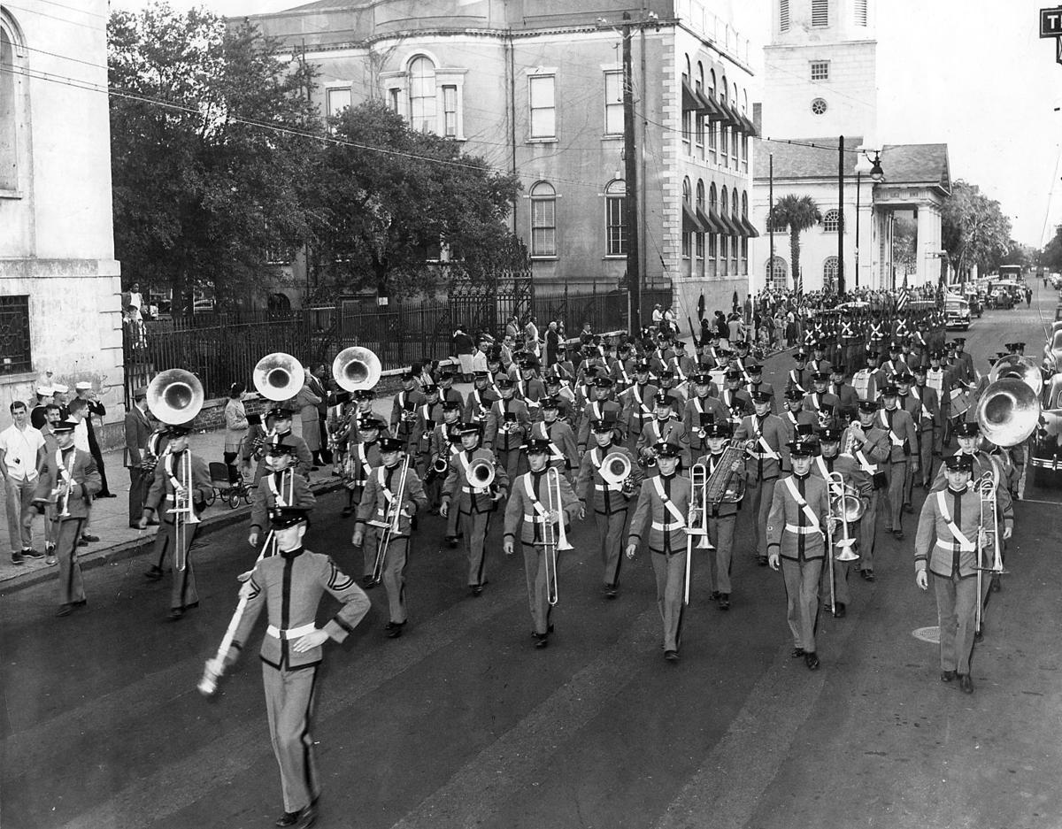 Citadel Parade 1949 (copy)