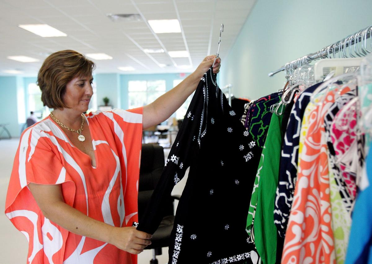 Sewing up successIsle of Palms woman creates resort wear for the upscale market
