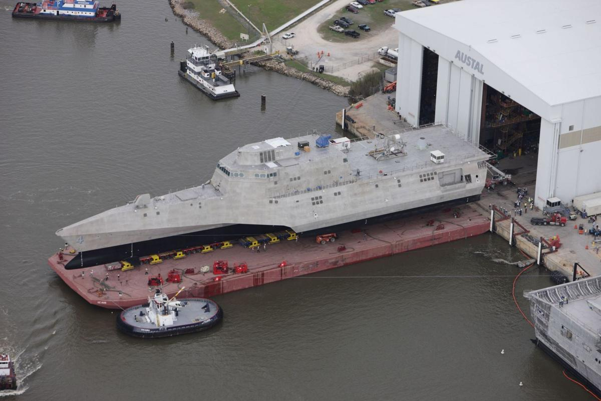 USS Charleston will strengthen the 'Away Team'