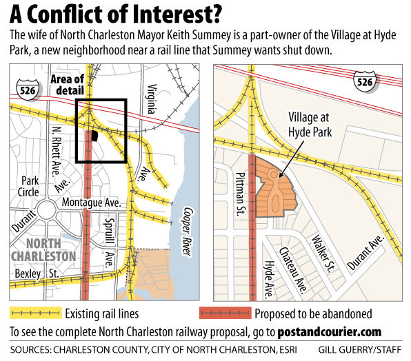 Another snag for rail plan?