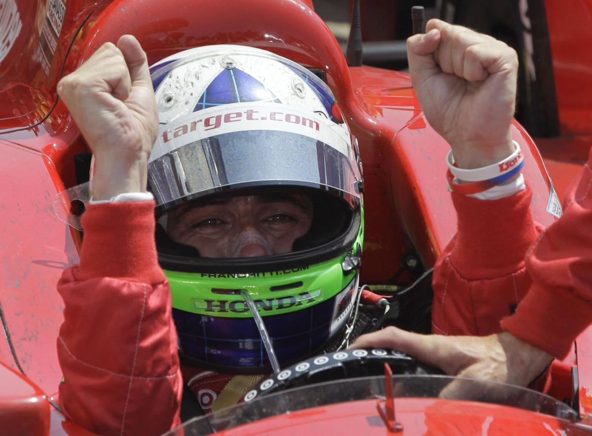 Franchitti wins 3rd Indy 500, gives nod to Wheldon
