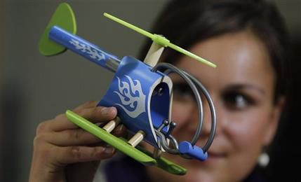 Germany sells vision for 'green toys' to world