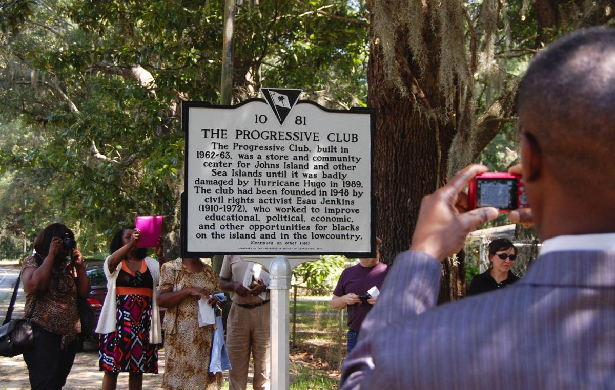 Marker, building plans unveiled for Johns Island civil-rights site