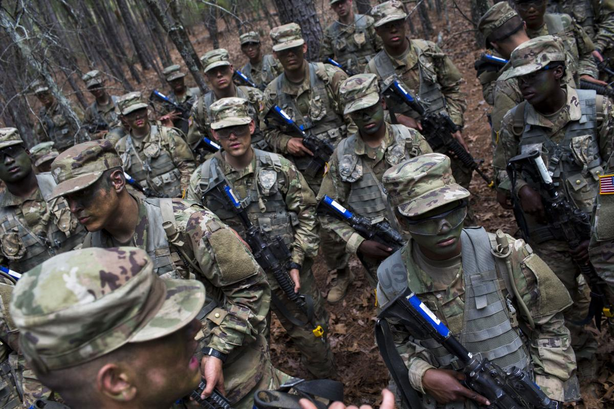 To become a soldier at Fort Jackson, U S  Army recruits face
