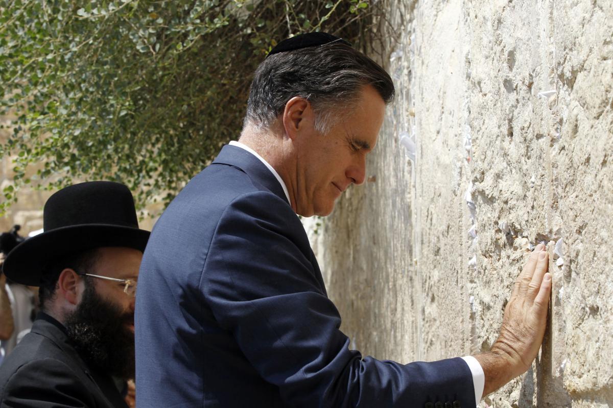 Romney stresses Israel ties