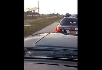 Road-rage deputy back at work