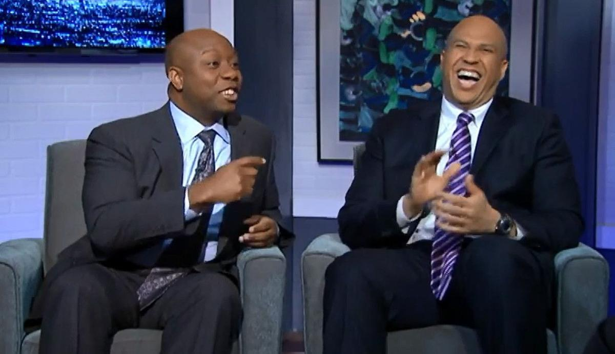 Tavis Smiley talks with Tim Scott and Corey Booker