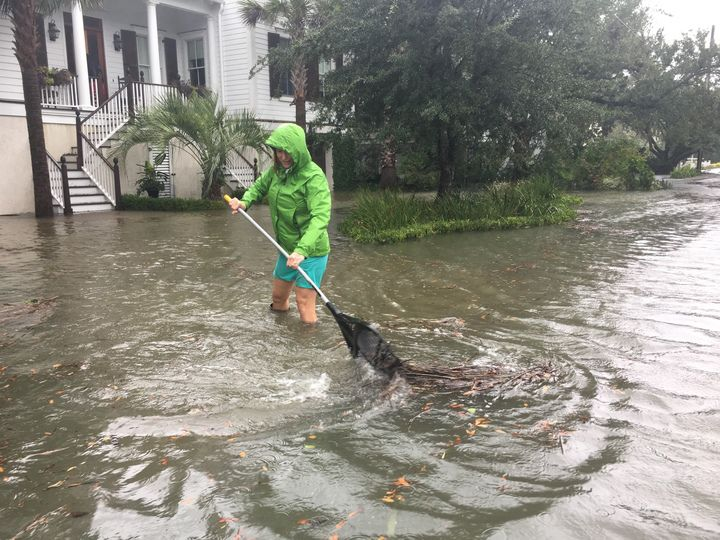 Administrator On Shem Creek Mount Pleasant Flooding I Ve Never Seen Anything Like It News Postandcourier Com