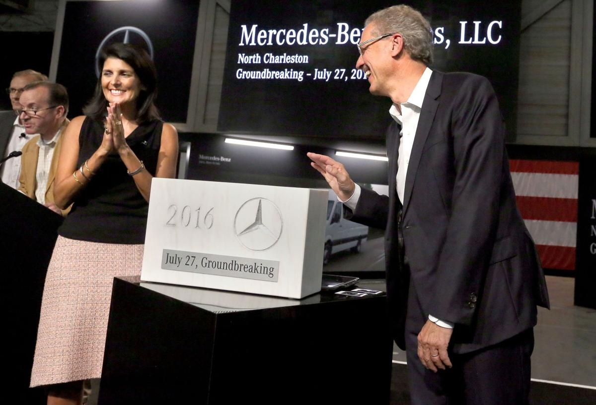 Mercedes-Benz Vans Groundbreaking