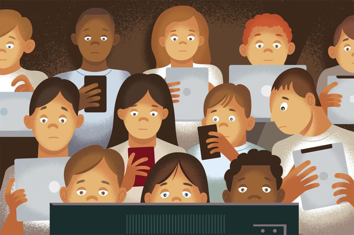 Screen addiction taking toll on children