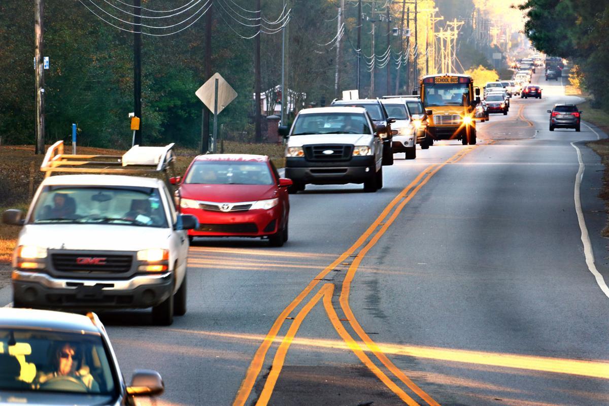 morning traffic highway 41