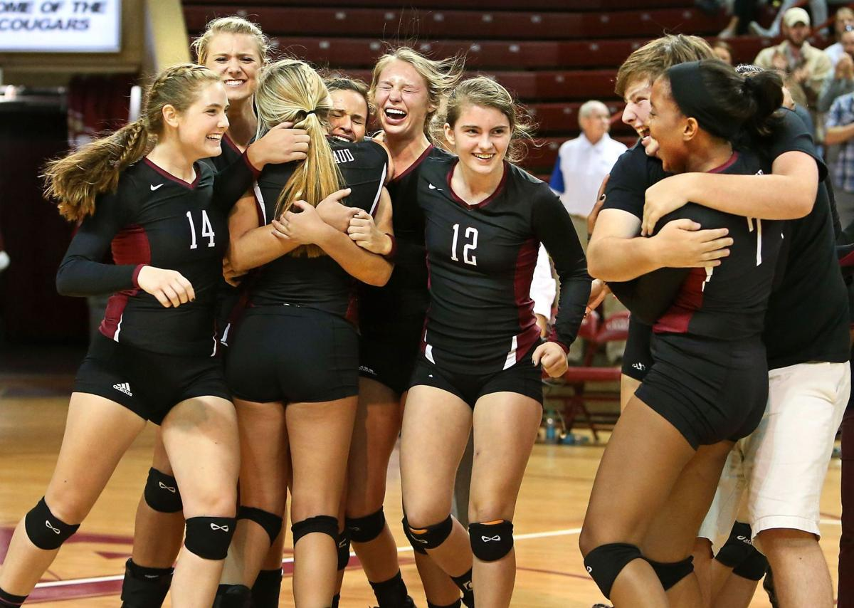 Volleyball state champs: Porter-Gaud over First Baptist