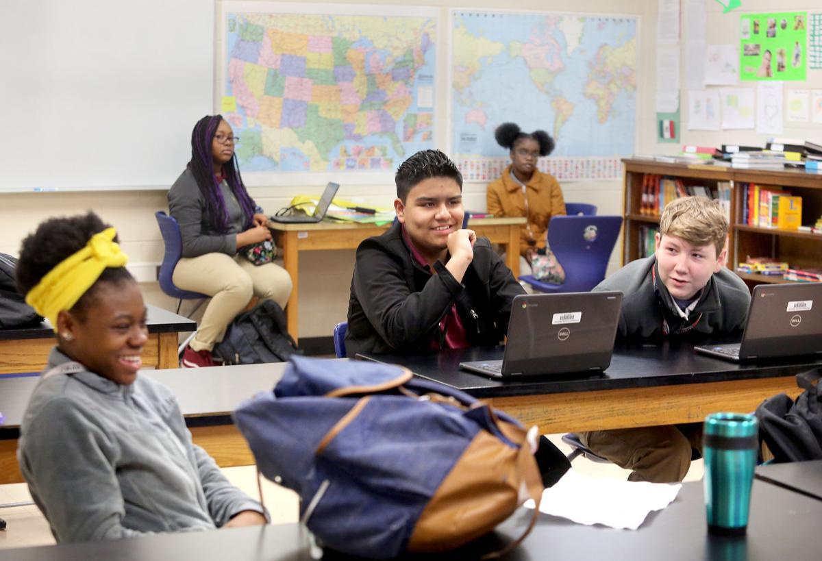 Charleston County classroom