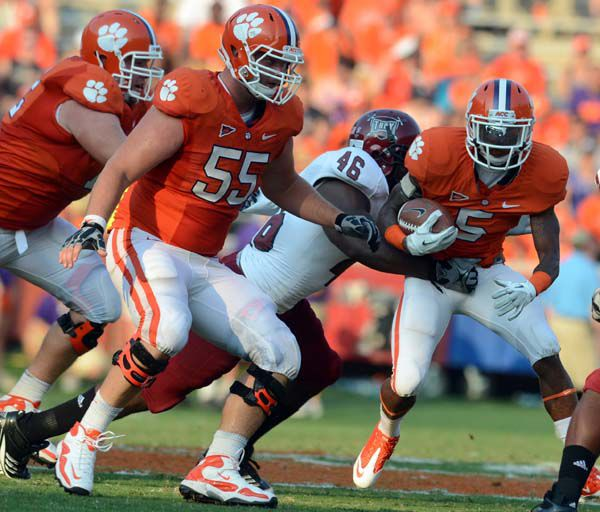 Clemson's Bellamy will get more carries in time