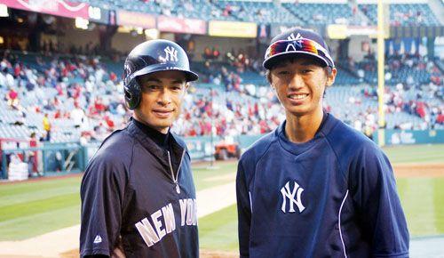 R'Dogs' Katoh bonds with Ichiro