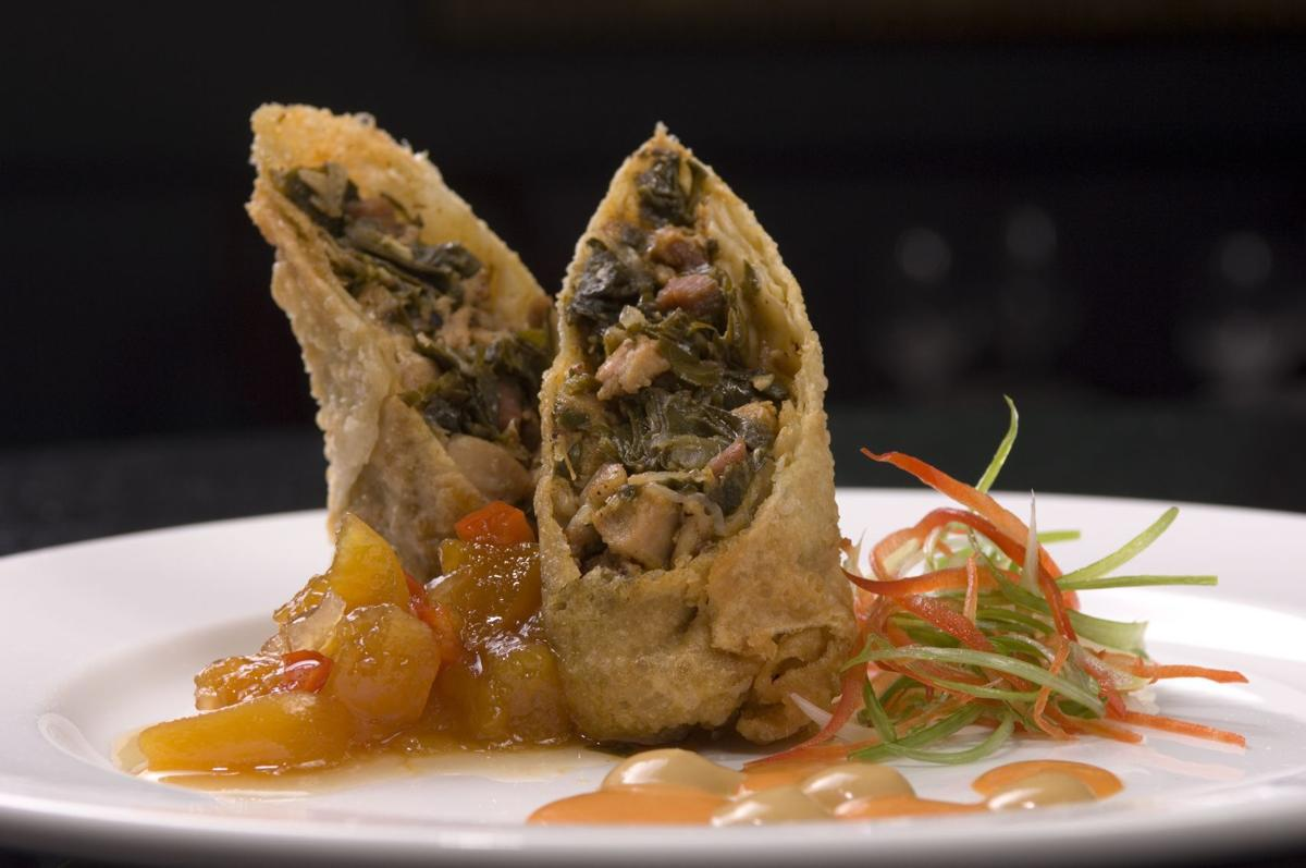 Dine like a Charlestonian Highlights on local traditions and foods Magnolias' Down South Egg Roll