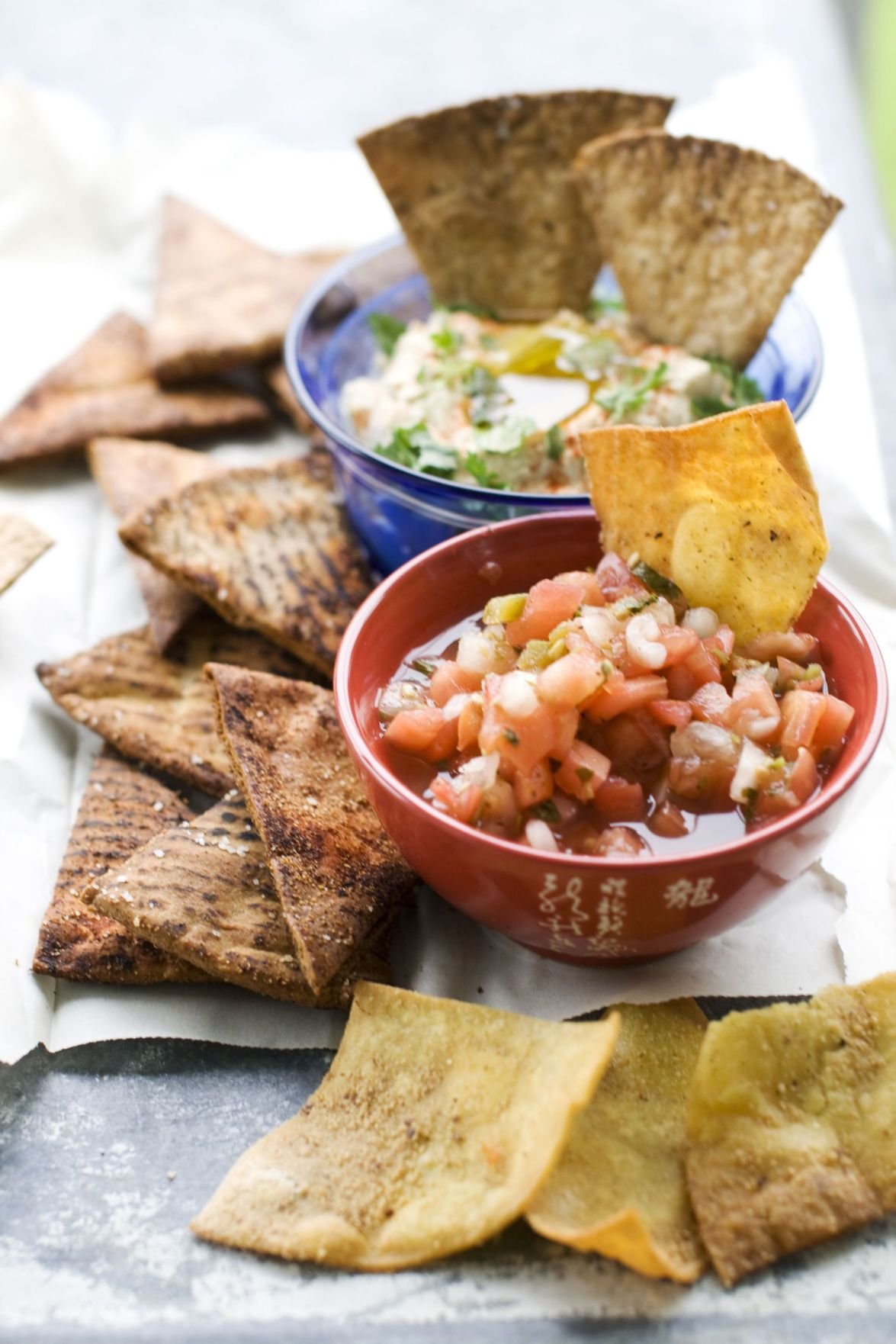Tortilla chips are easy to make at home