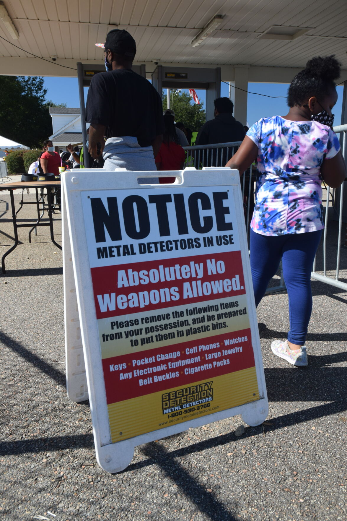 Security increased at Western Carolina State Fair after incident, no injuries reported