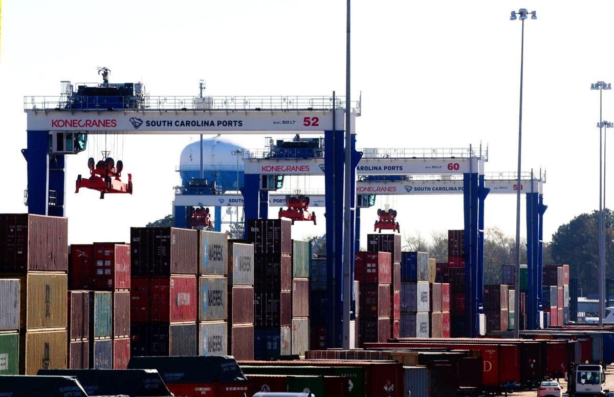 Port of Charleston sets container record in August 2018