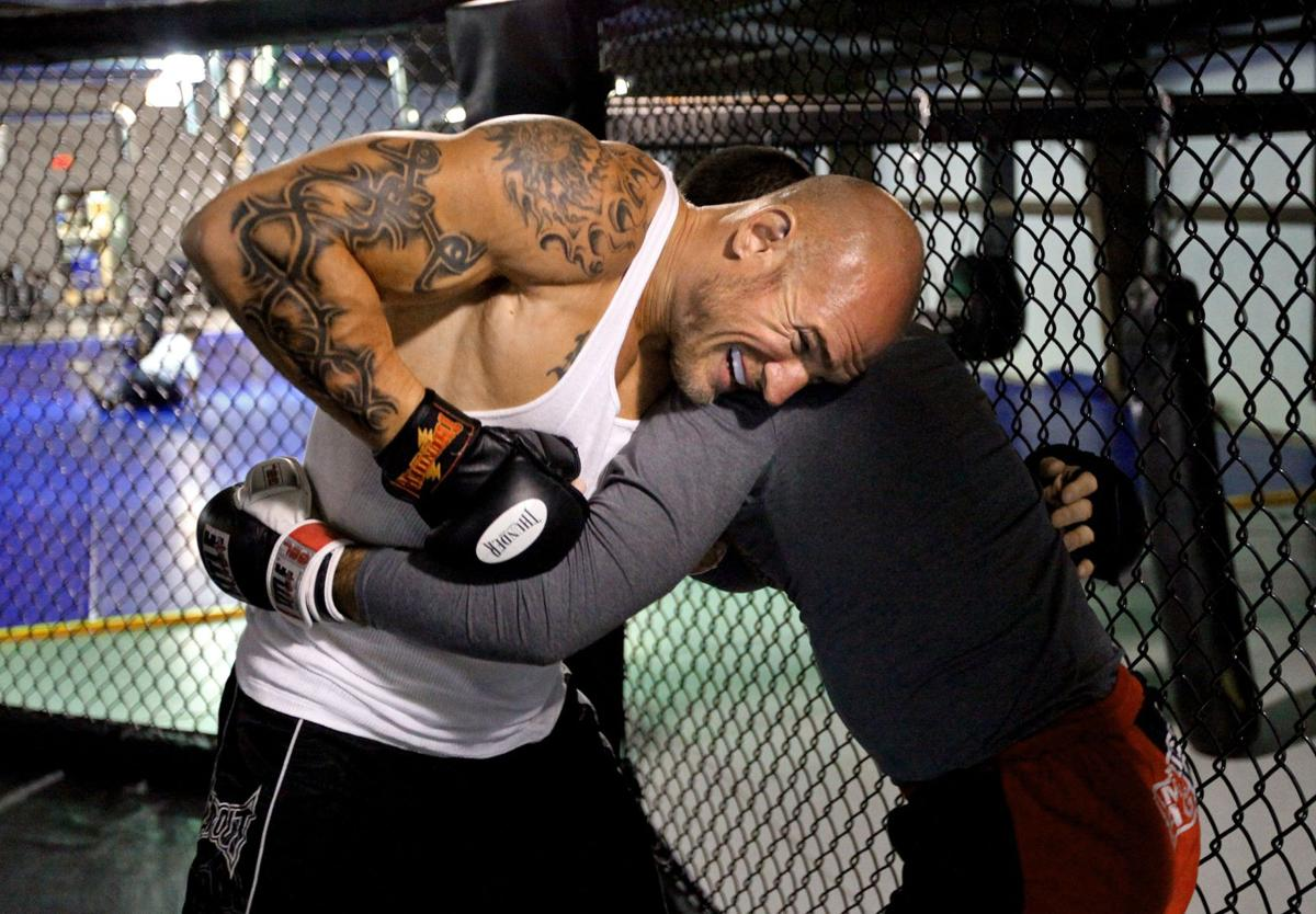 From ice to cage Former Stingrays tough guy Nate Kiser will keep gloves on in MMA debut tonight