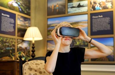 Virtual walk-through High-tech tours new tool in home-selling business