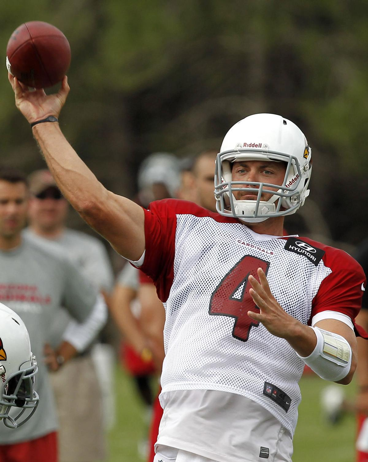 Cards' Kolb leaves practice with bruised right thigh