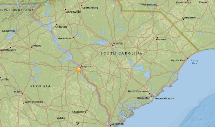 Earthquake with 30 magnitude felt in North Augusta News