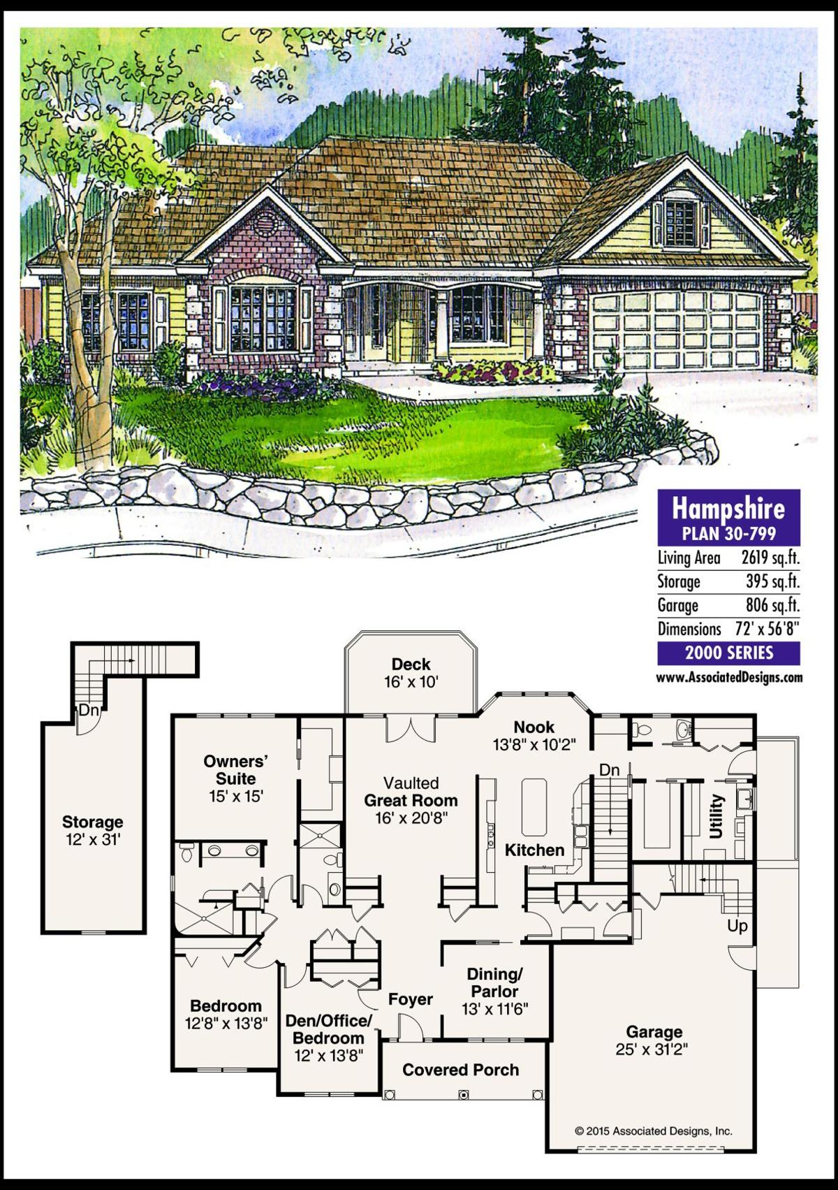 This week's house plan Hampshire 30-799