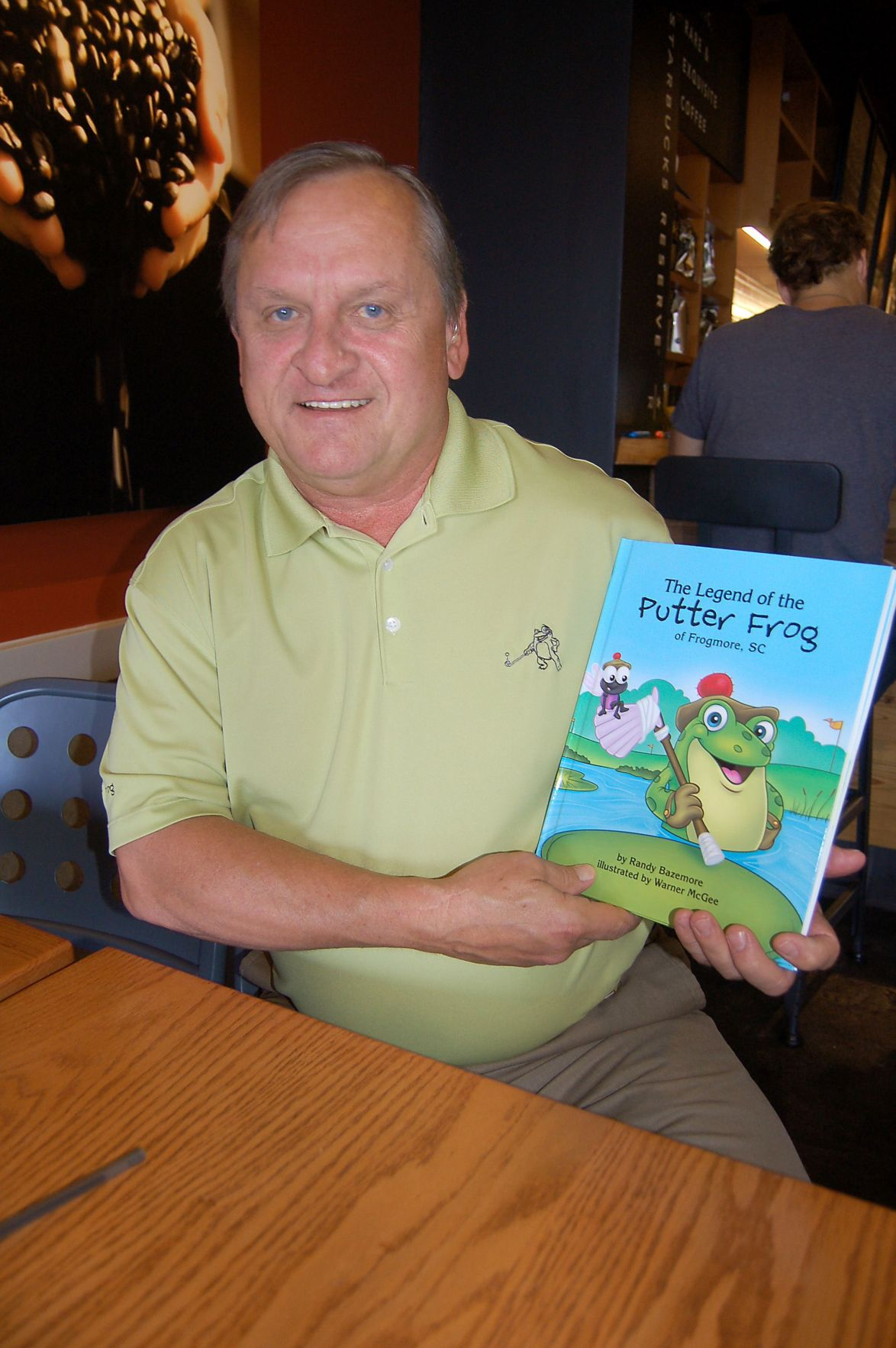 Real life experiences lead local Realtor to write The Putter Frog children's book