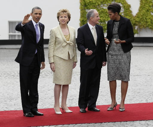 Obama in Ireland to discover his Irish roots