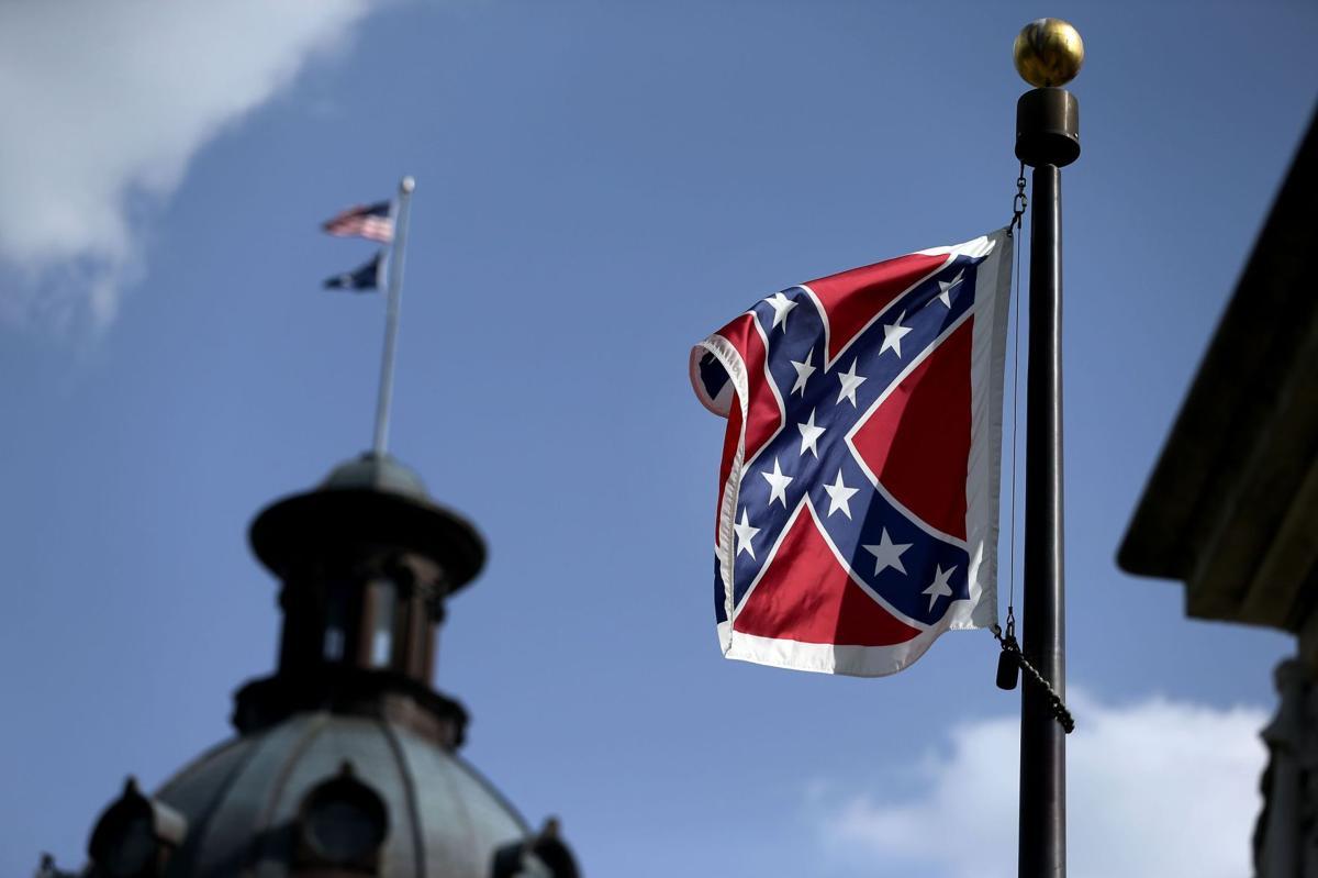 Palmetto Sunrise: Confederate flag's last dawn