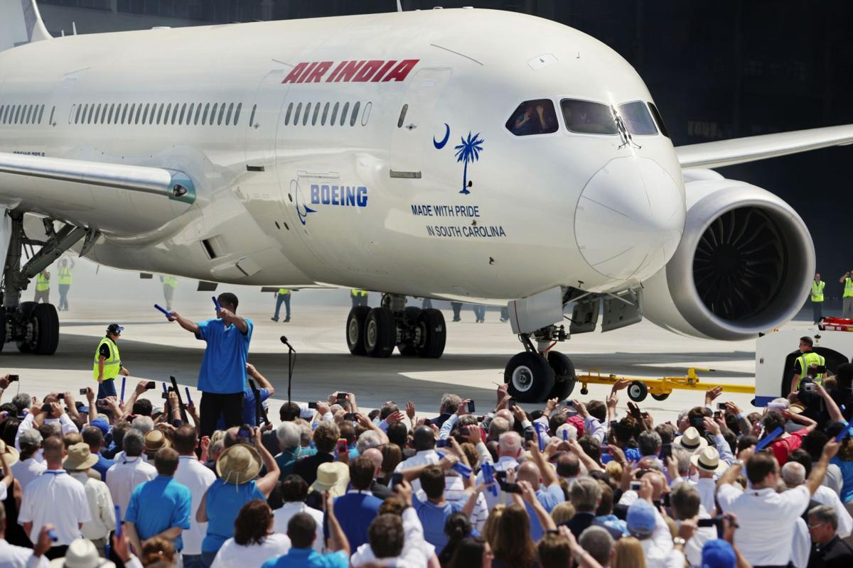Boeing delivery of 1st jet up in air