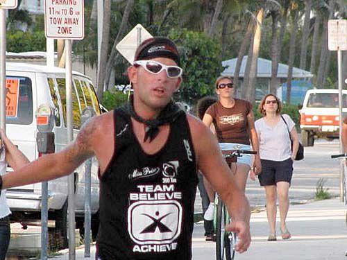 Runner 7th at 50-miler